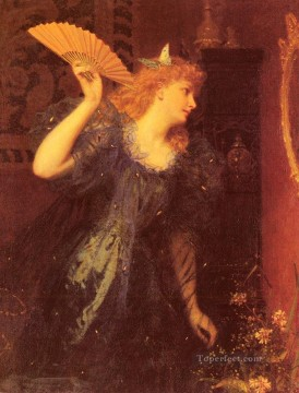 Sophie Painting - Ready For The Ball genre Sophie Gengembre Anderson
