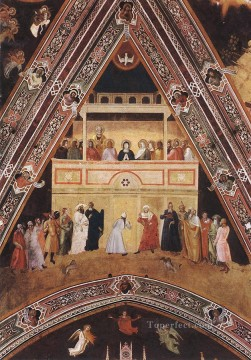 Andrea da Firenze Painting - Descent Of The Holy Spirit Quattrocento painter Andrea da Firenze