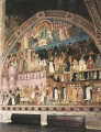 Frescoes On The Right Wall Quattrocento painter Andrea da Firenze