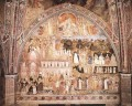 The Church Militant And Triumphant 1365 Quattrocento painter Andrea da Firenze