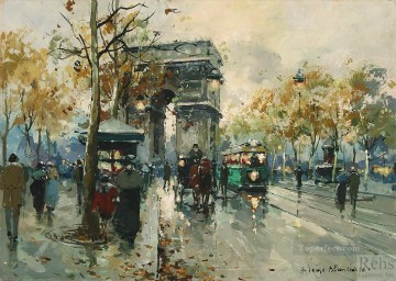 antoine blanchard arc de triomphe 4 Oil Paintings