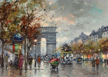 antoine blanchard arc de triomphe 5 Oil Paintings