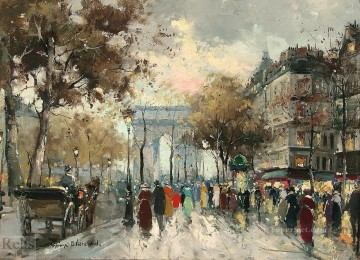 antoine blanchard champs elysees 3 Oil Paintings