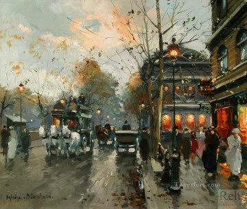 antoine blanchard le chatelet Oil Paintings