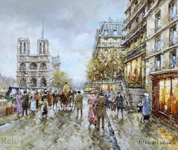Paris Painting - antoine blanchard paris