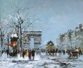 antoine blanchard champs elysees winter
