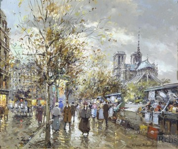 Paris Art - antoine blanchard paris les bouquinistes