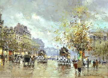 antoine blanchard place de la madeleine 2 Oil Paintings