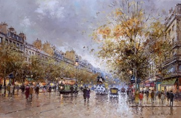 antoine blanchard theatre des varietes large Oil Paintings