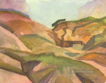 Landcape August Macke Oil Paintings