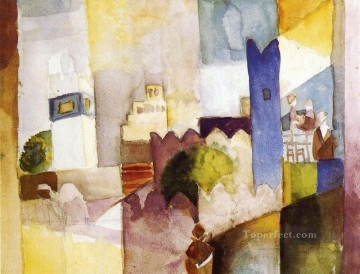 Kairouan August Macke Oil Paintings