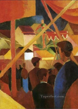 Tightrope Walker Seiltanzer August Macke Oil Paintings