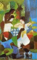 Turkish Jewel Trader August Macke