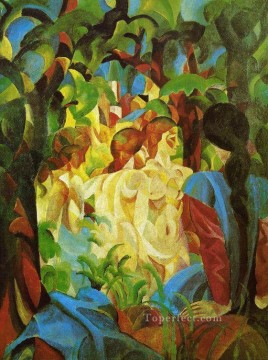 GIRLS August Macke Oil Paintings