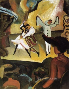 Russian Ballet I August Macke Oil Paintings