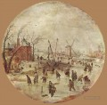 Winter Landscape With Skaters Hendrick Avercamp