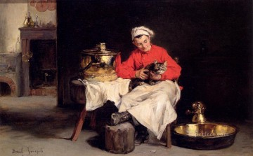 Le Cuisiner Joseph Claude Bail Oil Paintings