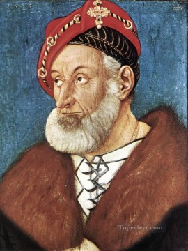 Hans Canvas - Count Christoph I Of Baden Renaissance painter Hans Baldung