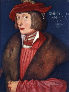 Hans Canvas - Count Philip Renaissance painter Hans Baldung