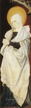 painter Canvas - Mater Dolorosa Renaissance painter Hans Baldung