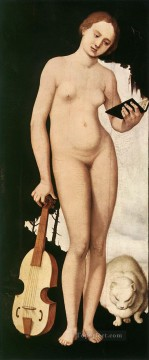Hans Canvas - Music Renaissance nude painter Hans Baldung