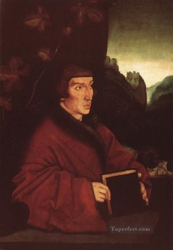 painter Canvas - Portrait Of Ambroise Volmar Keller Renaissance painter Hans Baldung