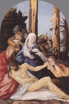 Hans Canvas - The Lamentation Of Christ Renaissance nude painter Hans Baldung