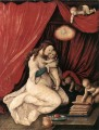 Virgin And Child In A Room Renaissance painter Hans Baldung
