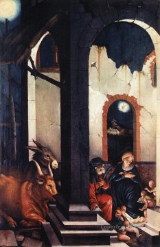 painter Oil Painting - Nativity Renaissance painter Hans Baldung