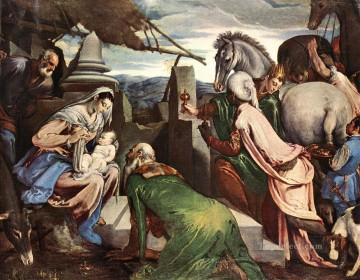 The Three Magi Jacopo Bassano Oil Paintings