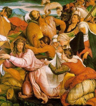 The Way To Calvary Jacopo Bassano Oil Paintings