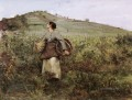 At Harvest Time rural life Jules Bastien Lepage
