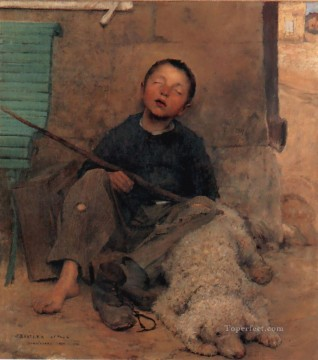 Lepage1 rural life Jules Bastien Lepage Oil Paintings