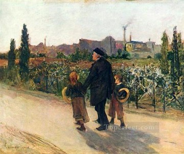 Jules Art Painting - all souls day rural life Jules Bastien Lepage