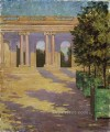 Arcade of the Grand Trianon Versailles James Carroll Beckwith
