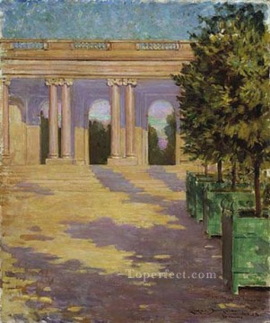 Arcade of the Grand Trianon Versailles James Carroll Beckwith Oil Paintings