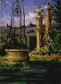 In the Gardens of the Villa Palmieri James Carroll Beckwith