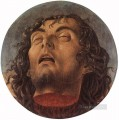 Head of St John the Baptist Renaissance Giovanni Bellini