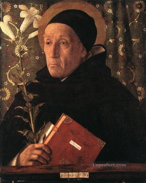 Portrait of Teodoro of Urbino Renaissance Giovanni Bellini Oil Paintings