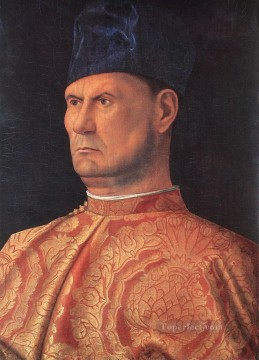 Portrait of a condottiere Renaissance Giovanni Bellini Oil Paintings