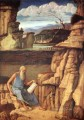 St Jerome reading Renaissance Giovanni Bellini