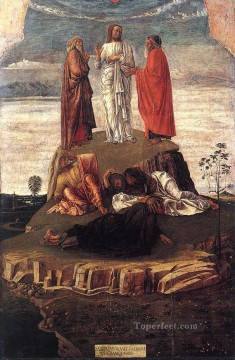Transfiguration of Christ Renaissance Giovanni Bellini Oil Paintings