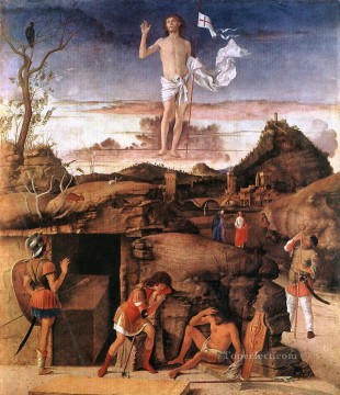 Resurrection of Christ Renaissance Giovanni Bellini Oil Paintings