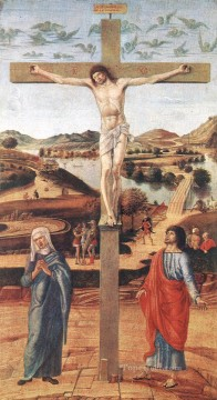 Crucifix Renaissance Giovanni Bellini Oil Paintings