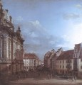 Dresden The Frauenkirche And The Rampische gasse urban Bernardo Bellotto