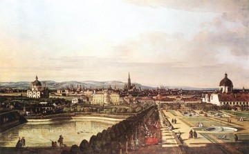 Bernardo Art Painting - View Of Vienna From The Belvedere urban Bernardo Bellotto