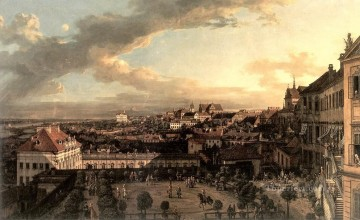 Bernardo Art Painting - View Of Warsaw From The Royal Palace urban Bernardo Bellotto