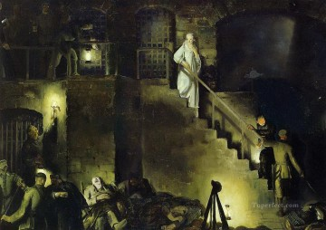 1918 Painting - Edith Cavell 1918 George Wesley Bellows