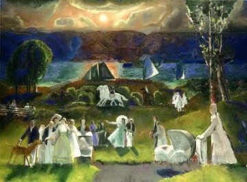 George Wesley Bellows Painting - Summer Fantasy 1924 George Wesley Bellows