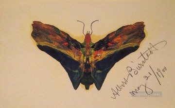 Albert Works - Butterfly v2 luminism Albert Bierstadt